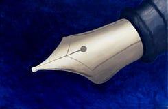 Semilla de la pluma - pintura de acrílico fotografía de archivo libre de regalías