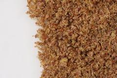 Semilla de lino molida foto de archivo