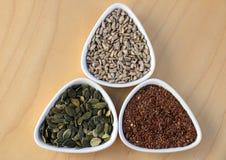 Semillas comestibles Foto de archivo libre de regalías