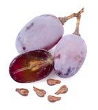 Semillas de la uva Foto de archivo libre de regalías