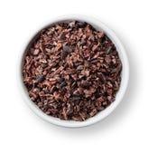 Semillas del cacao Imagenes de archivo