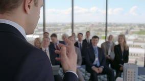Seminário da AR do orador do negócio