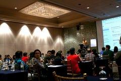 Seminário global da cimeira do sucesso do Internet Imagens de Stock Royalty Free