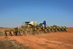 Semina del trattore Fotografia Stock Libera da Diritti