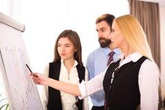 Seminar über das Heben des Einkommensniveaus Stockbilder