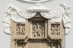 Seminar church's gothic sculpture Royalty Free Stock Images