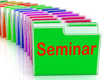 Seminar Folders Show Convention Presentation Stock Images