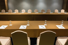 Seminar and meeting room Royalty Free Stock Images