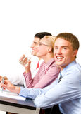 Seminar oder Darstellung Lizenzfreies Stockfoto