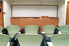 Seminar Room Stock Photo