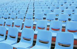 Seminar Seats with no attendees Royalty Free Stock Images