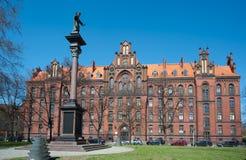 Seminarie op het Eiland van de Kathedraal, Wroclaw Stock Foto's