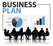 Seminario Conce di conferenza di riunione di strategia di pianificazione del business plan fotografia stock