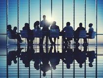 Seminario Conce di conferenza di riunione di strategia di pianificazione del business plan Fotografia Stock Libera da Diritti