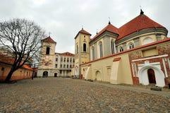 Seminario del sacerdote, Kaunas, Lituania Imagenes de archivo