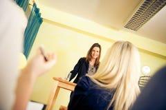 Seminario delle donne soltanto Fotografia Stock