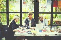 Seminario di conferenza di riunione d'affari che lavora Team Concept Immagini Stock Libere da Diritti
