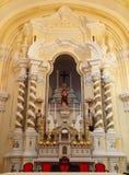 Seminario e iglesia de San José en Macao Foto de archivo