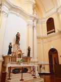 Seminario e iglesia de San José en Macao Imagenes de archivo