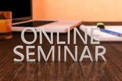 Seminario en línea Imágenes de archivo libres de regalías