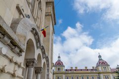 Seminario teologico ortodosso, Cluj-Napoca, Romania fotografia stock