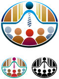 seminarium vektor illustrationer
