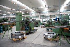 Seminarium - metall som bildar press Royaltyfri Bild
