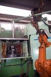 Seminarium - metall som bildar press Arkivfoto