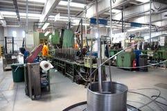 Seminarium - metall som bildar press Royaltyfri Foto