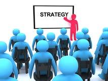seminariumstrategi Arkivbild