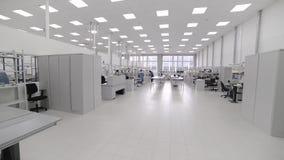 Seminariumyttersidabeslag och pre-enhet elektronisk industri arkivfilmer
