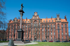 Seminary on Cathedral Island, Wroclaw Stock Photos