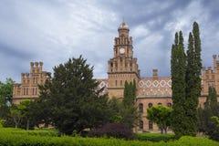 Seminary Church at Chernovtsy University. Bell tower of the Seminary Church at Chernovtsy University, Ukraine Stock Image