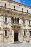 Seminary palace. Lecce. Puglia. Italy. Stock Images