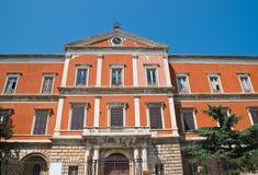 Seminary palace. Molfetta. Puglia. Italy. Royalty Free Stock Photo