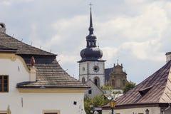 Seminary in Tuchow, Poland. Seminary in Tuchow in Poland. Tuchow, Malopolskie, Poland Stock Image