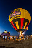 Seminole casino hot air balloon festival Royalty Free Stock Photo