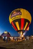 Seminole gorącego powietrza balonu kasynowy festiwal Zdjęcie Royalty Free