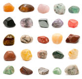 Semiprecious gemstones Stock Image