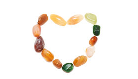 Semiprecious gemstones Stock Photography