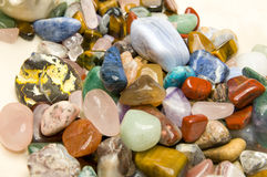 Semiprecious gemstones Fotografia Stock