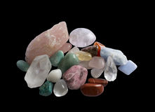Semiprecious gemstones Stock Photos