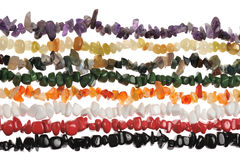 Semiprecious stone neclklace Stock Images