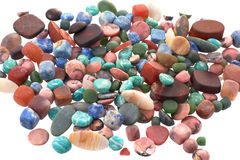 The Semiprecious stones Royalty Free Stock Photo
