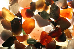 Semiprecious stones Royalty Free Stock Image