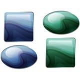 Semiprecious stones. Stock Image