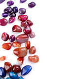 Semiprecious stones Stock Image