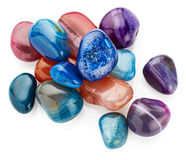 Semiprecious stones Royalty Free Stock Photo