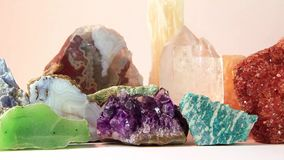 Semiprecious stones Stock Photography