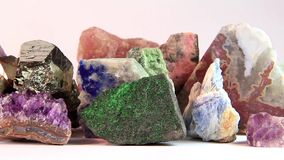 Semiprecious stones Royalty Free Stock Images
